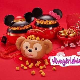 迪士尼duffy 新年爆谷桶