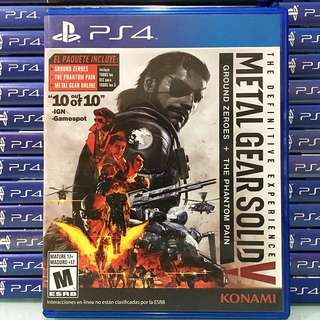 [PS4] MGS V: The Definitive Experience