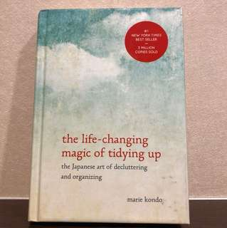 The life-changing magic of tidying up , Marie kondo