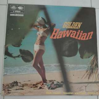 Golden Hawaiian Vinyl LP Record