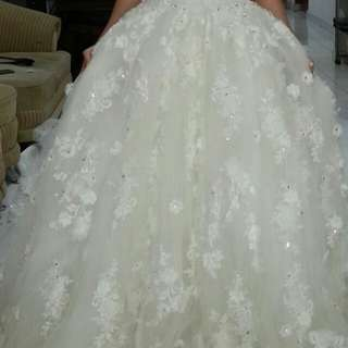 Wedding dress second