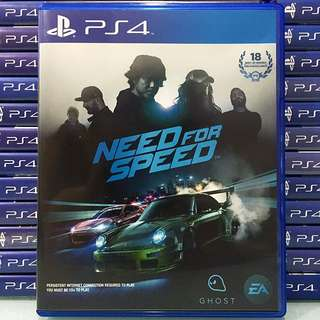 [PS4] Need For Speed