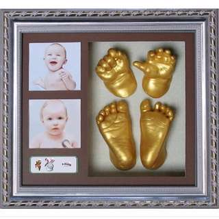 DIY baby footprints