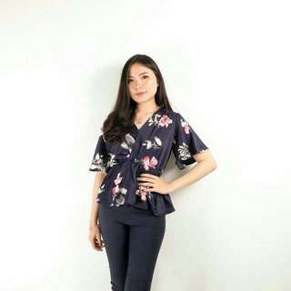 Adonia Flower Blouse