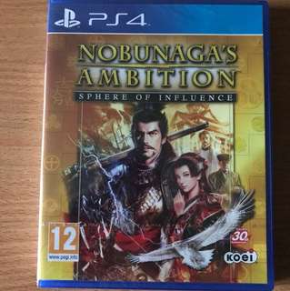 Ps4 Nobunga Ambition Sphere Of Influence