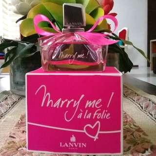 Authentic LANVIN Paris Marry me Eau de Parfum
