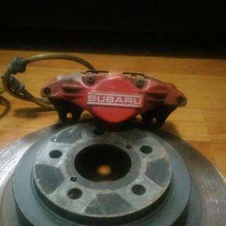 Subaru Wrx 2 Pot Rear Brake