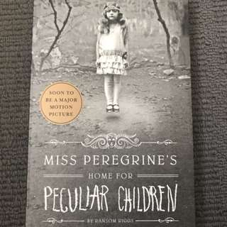'Miss Peregrine's Home For Peculiar Children' by Ransom Riggs