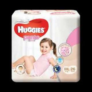 Huggies Diapers Girls xxl for abdl