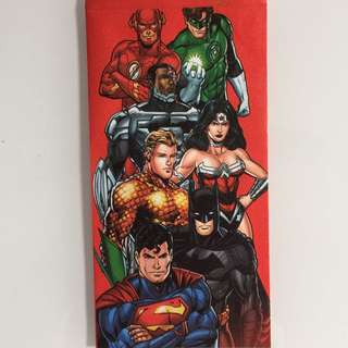 Limited Edition brand new DC Comics lunar new year red Packets For Sale .