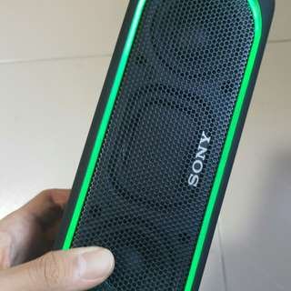 Sony SRS-XB30 bluetooth speaker.