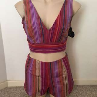 Colourful two piece