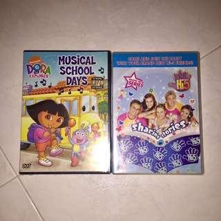DVD: Dora & Hi-5 (lot of 2)