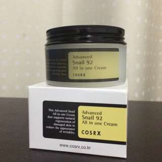 Auth COSRX All in one Snail Cream