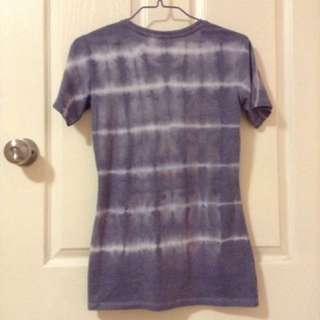 Tie Dye T Shirt Blue