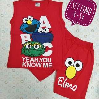 Set Singlet Elmo