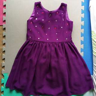 Periwinkle Dress 8 yo