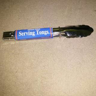 New serving tongs