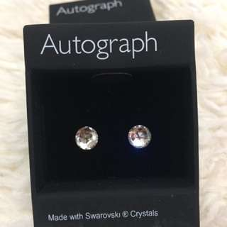 Autograph Swarovski earrings耳環