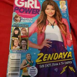 Girl Power Magazine. Zendaya