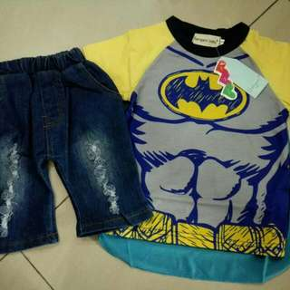Batman Set (2y & 3y)