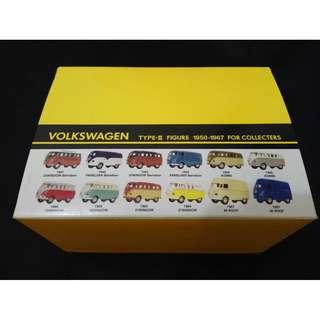 原盒(共12架)福士玩具盒裝車 VOLKSWAGAN TYPE-II FIGURE