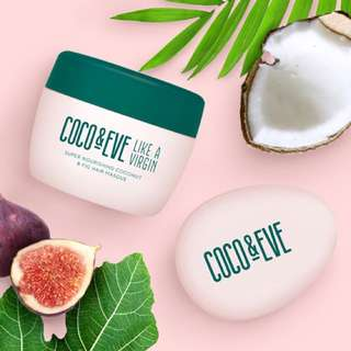 "coco&eve ""like a virgin"" hair mask"