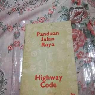 Panduan Jalan Raya Highway Code 1959