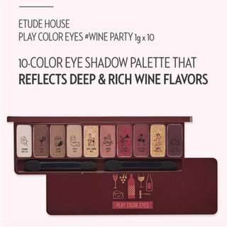 #Contiki2018 Etude House Play Color Eyes Palette in Wine Party