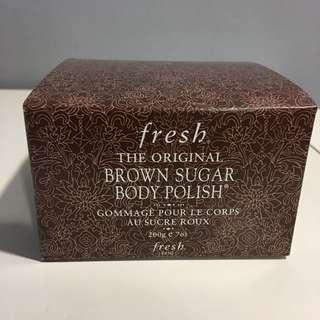 fresh brown sugar body polish 200g