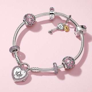 Valentine's 2018 collection - padlock bracelet 17cm (without charms)