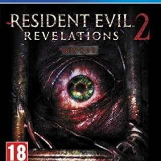 Resident Evil Revelations 2 & Need 4 Speed Rivals