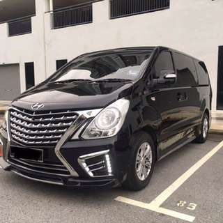 12 Seater Luxury MPV Hyundai Starex