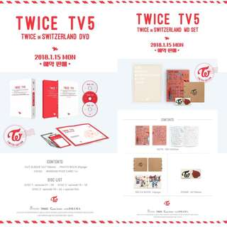 [Preorder] Twice TV5: Twice in Switzerland