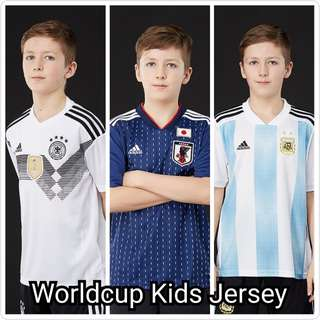 World cup kids jersey