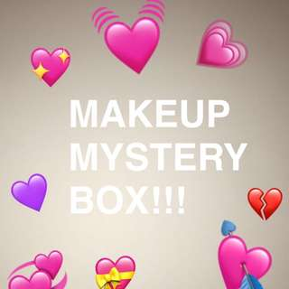 Makeup mystery box💞💘💖💗💕