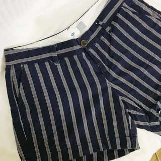 Repriced! Old Navy Blue Stripes Shorts