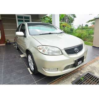 2004 Toyota Vios 1.5G (A) Full Spec for sale!
