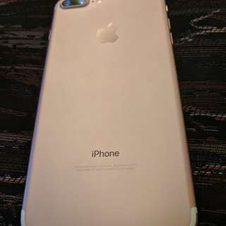 Iphone 7 plus 128 rose gold
