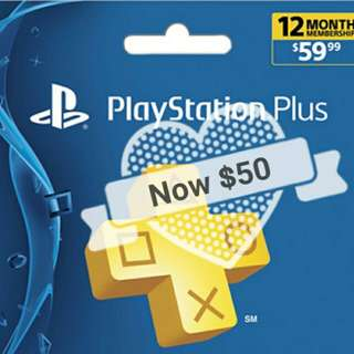 Ps4 plus membership 12 months