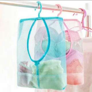 Storage mesh bag organizer