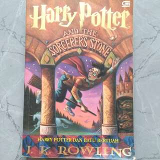 Harry Potter and The Sorcerer's Stone by J. K. Rowling (Indonesian Version)