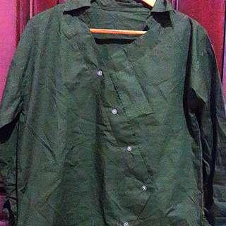 Green army shirt