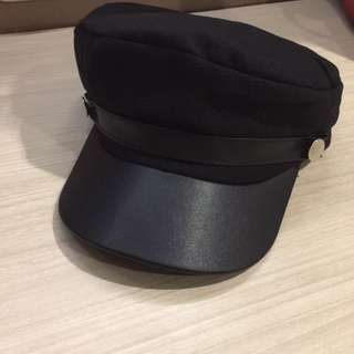 Schoolboy hat black