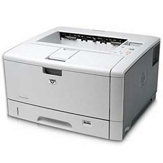 HP LaserJet 5200dtn - printer - monochrome - laser Series . Can print up to A3