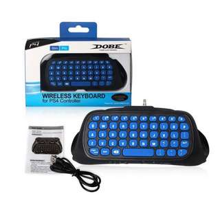 Dobe Wireless Keyboard for PS4 Controller