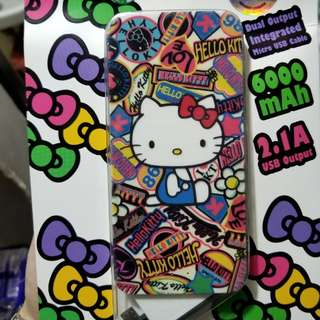 Hello kitty power bank (charger 充電器)