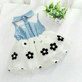 Baju baby comel dress