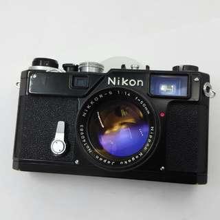 Nikon Film Camera S3 Black Paint Limited Edition