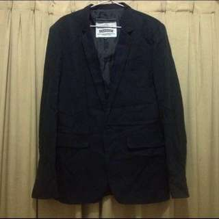 preloved blazer cowok warna hitam
